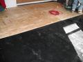 Plywood Sub-Floor Installed