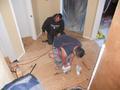 Plywood Flooring Install